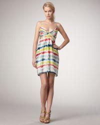 Shoshanna Amelie Tie-dye Dress - Lyst