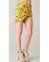 Twenty8Twelve - Printed Wrap Skirt - Lyst