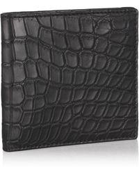 Zagliani - Crocodile Wallet - Lyst