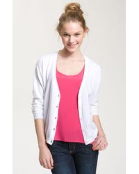 BP Bp. Relaxed Fit V-neck Cardigan - Lyst
