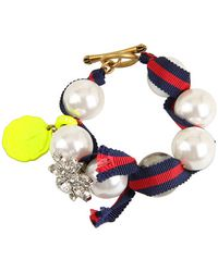 Juicy Couture | The Crown Jewels Gumball Pearl Bracelet | Lyst