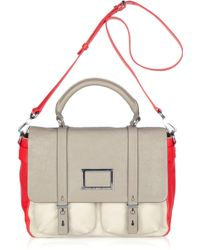 Marc By Marc Jacobs Werdie Color-block Leather Satchel - Lyst
