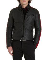 Ralph Lauren Black Label Café Racer Jacket - Lyst
