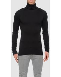 Balenciaga High Neck Sweaters - Lyst
