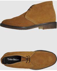 John Bakery Hightop Dress Shoe - Lyst