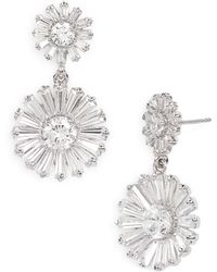 Kate Spade Crystal Gardens Drop Earrings - Lyst