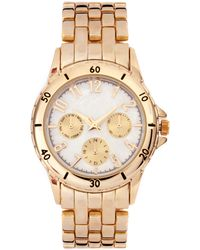 ASOS - Asos Premium Gold Boyfriend Watch - Lyst