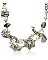 Erickson Beamon Beauty and The Beast Necklace - Lyst