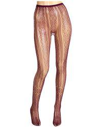 Anna Sui - Deco Garter Net Tight - Lyst