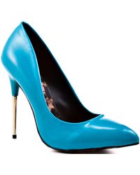 Betsey Johnson Tappp - Teal Neon blue - Lyst