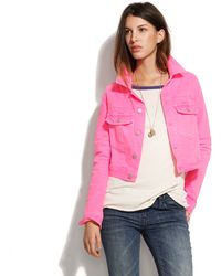 Textile Elizabeth and James - Textile Elizabeth & James® Sid Denim Jacket - Lyst