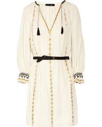 Isabel Marant Joane Sequined Cotton Dress - Lyst