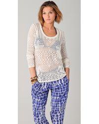 Thakoon Addition - Crochet Jumper - Lyst