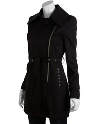 Via Spiga - Cotton-poly Twill Barbara Zip Front Trench Coat - Lyst