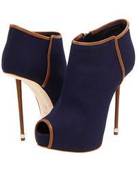 Giuseppe Zanotti Open Toe Sandal Boots  - Lyst