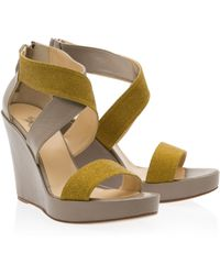 Paul & Joe Darling Glitter Strap Wedges - Lyst