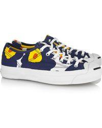 Converse Jack Purcell Helen Marimekko Canvas Sneakers - Lyst