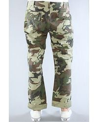 Obey The Juvee Chino Pants in Olive - Lyst