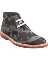 Barneys New York Camo Chukka - Lyst