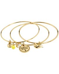 Juicy Couture | Coin Bangle Bracelet | Lyst