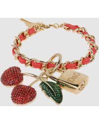 D&G Gold Bracelets - Lyst
