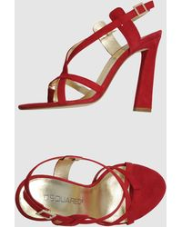 DSquared² Highheeled Sandals - Lyst