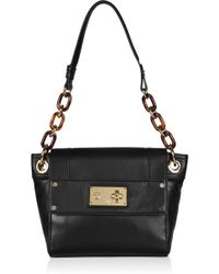 MILLY - Mina Chain-strap Leather Shoulder Bag - Lyst