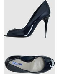 Pollini Pumps With Open Toe - Lyst