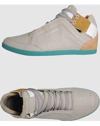 Y-3 High Top Sneakers - Lyst