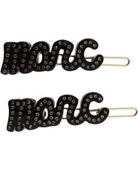 Marc By Marc Jacobs Marc Script Hair Clips - Lyst