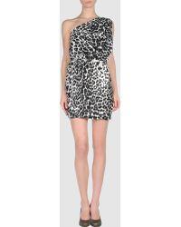 Trussardi Short Dress - Lyst
