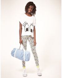 ASOS Collection Asos Leggings in Snoopy Print - Lyst