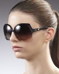Dior - Squared Ombre Sunglasses, Plum - Lyst