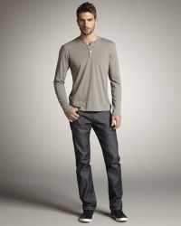 Bliss and Mischief - Raw Lightweight Jeans - Lyst