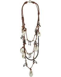 AllSaints - Akan Ceramic Necklace - Lyst