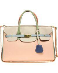 ASOS - Asos Colour Block Smart Bag - Lyst