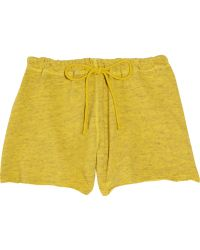 CLU - Cotton-Terry Shorts - Lyst