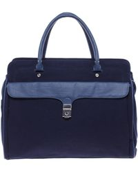 Fred Perry - Authentic Canvas Shopper Handbag - Lyst