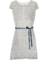 Day Birger Et Mikkelsen Day Tilly Striped Linen Dress - Lyst