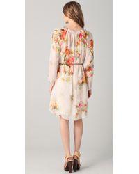 Graham & Spencer - Vintage Floral Long Sleeve Dress - Lyst