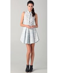 Boy by Band of Outsiders Exploding Dress - Lyst