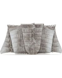 Juliette Jake - Crocodile Wrap and Wrap Clutch - Lyst