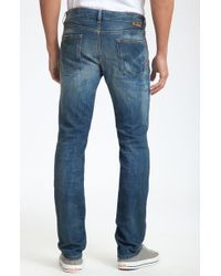 Just Cavalli Straight Leg Jeans - Lyst