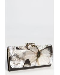 Ted Baker Butterfly Bobble Matinee Wallet - Lyst