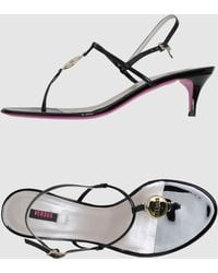 Versus  High Heeled Sandals - Lyst