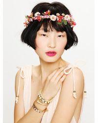 Free People Flower Braid Halo - Lyst