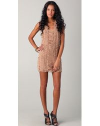 Sheri Bodell - Moondust Laser Cut Dress - Lyst