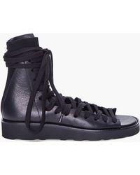 Kris Van Assche   Black Sneaker Sandal   Lyst
