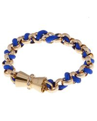 Bex Rox Blue Friendship Bracelet - Lyst