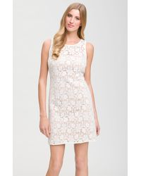 JS Collections Sleeveless Lace Dress - Lyst